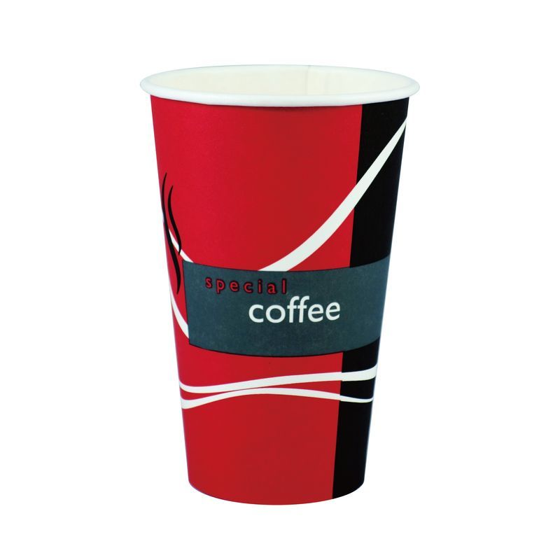 Red Hot Beverage Cup