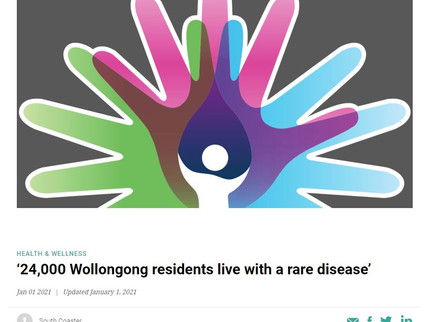 Rare Diseases Day 2021 - Raising awareness with South Coaster Magazine