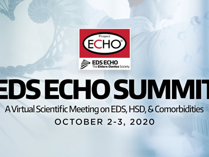 Virtual Ehlers Danlos Syndrome ECHO Summit, October 2-3