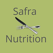 Safra Nutrition logo for business cards