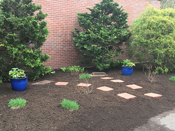 memorial garden at SHS.JPG