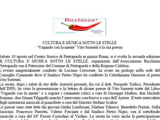 CULTURA E MUSICA SOTTO LE STELLE