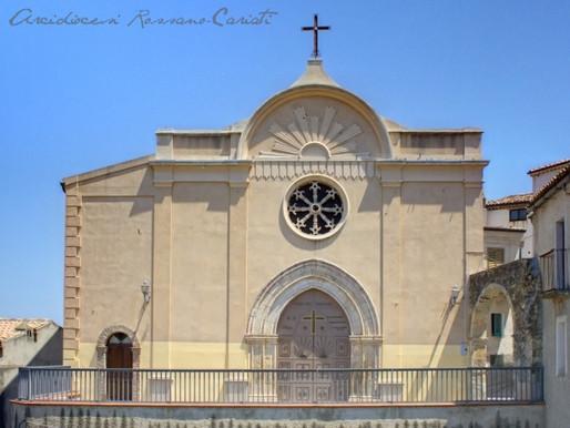 Rifacimento porta lignea Chiesa Santa Maria delle Grazie di Pietrapaola