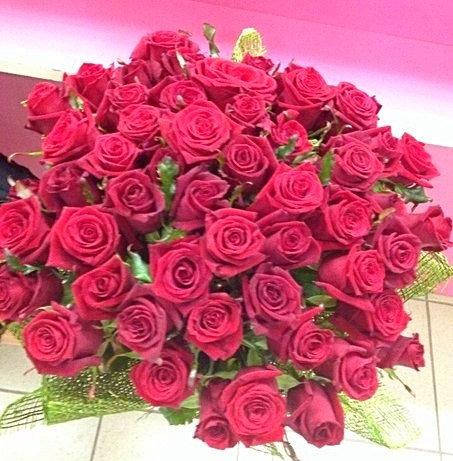 45 роз с упаковкой