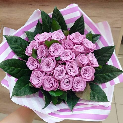 21 роза с оралией