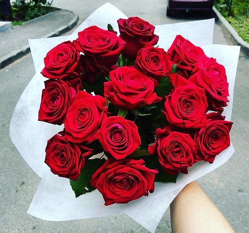 Розы 15 штук