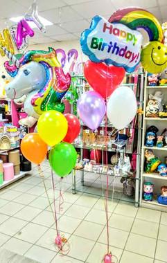 Фольгированный шар пони и день рождения