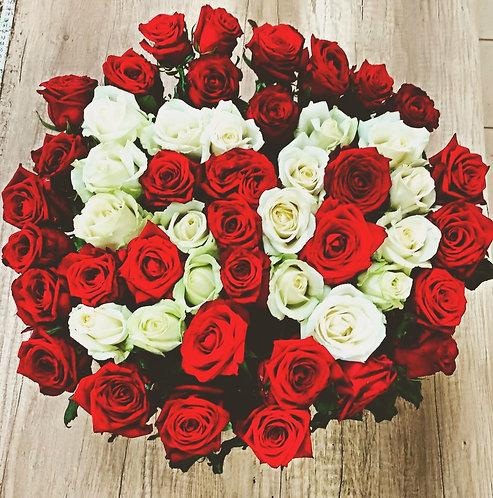 Розы на юбилей 50