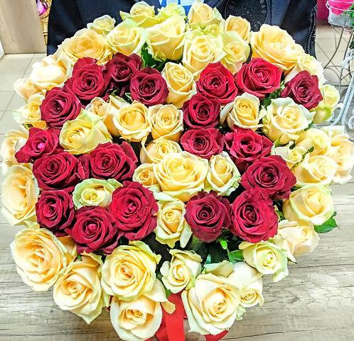 Розы на юбилей 65