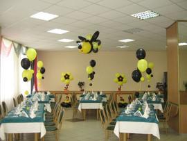 Пчелки из шаров на день рождения