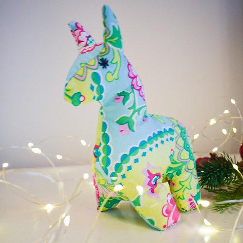 3D Multicoloured Alpaca