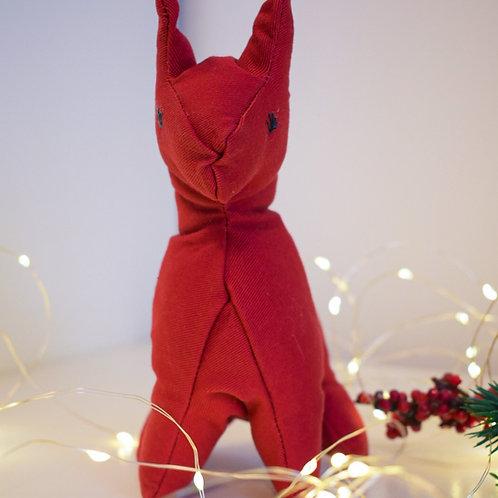 3D Red Alpaca