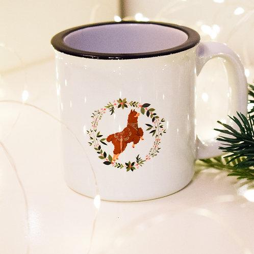 Cana portelan Christmas Joy