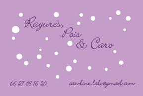 Rayures Pois et Caro