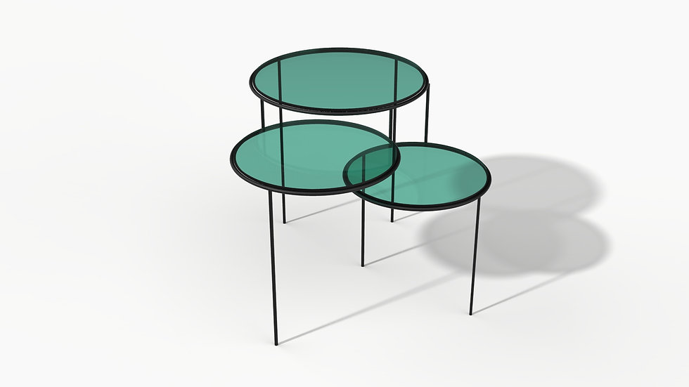 Light & Shadow Side Table
