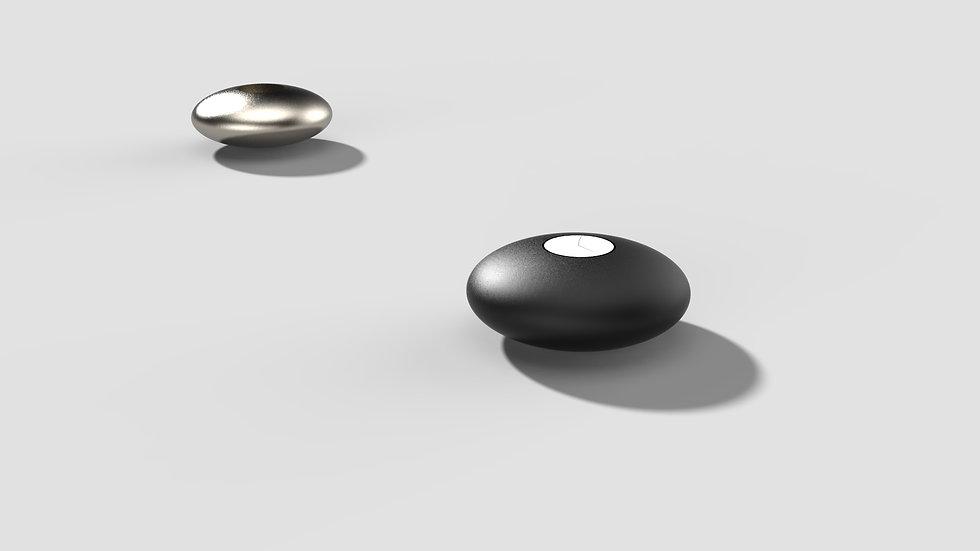 Pebble Tealightholder