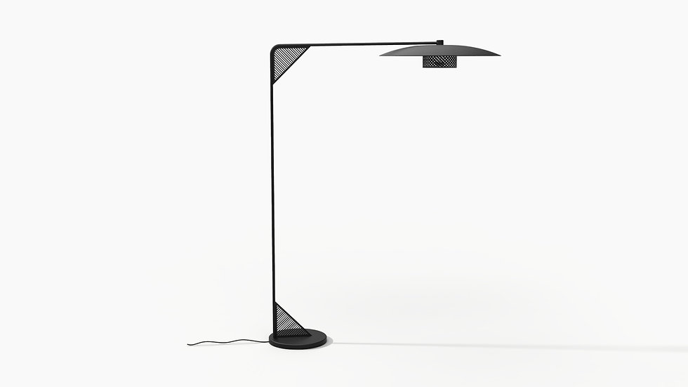 Weave Arc Floor Lamp 2