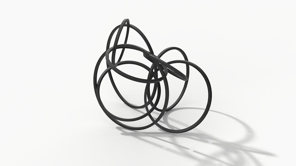 Scribble Sculpture