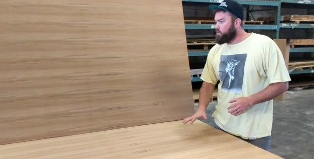 Teak Marine Interior Plywood 2440 x 1220mm