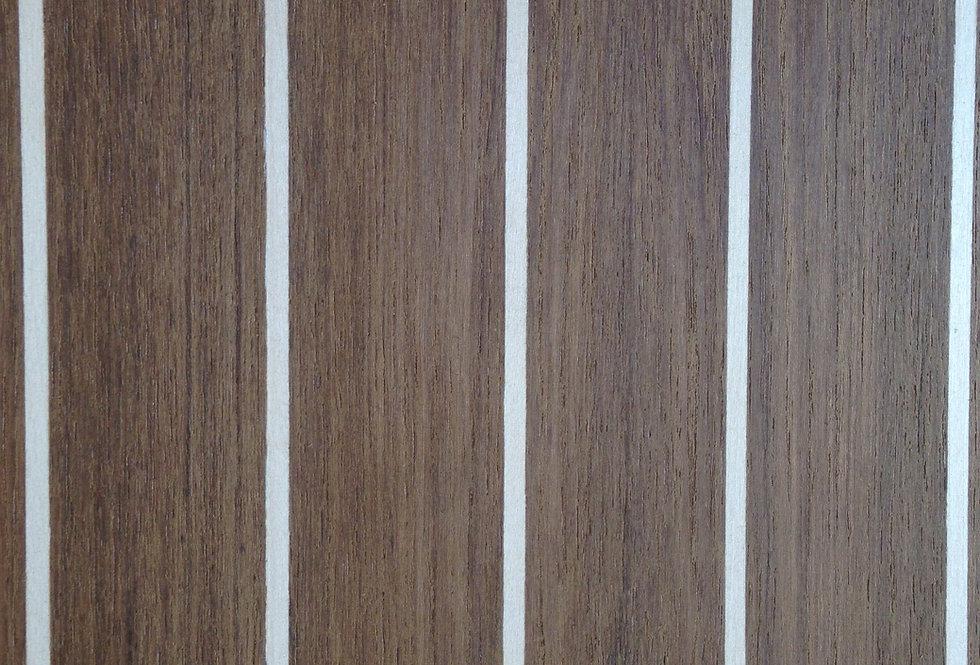 Teak & Holly Cabin-Sole Plywood 4x10