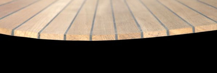 Soild Teak Decking Panels 6mm