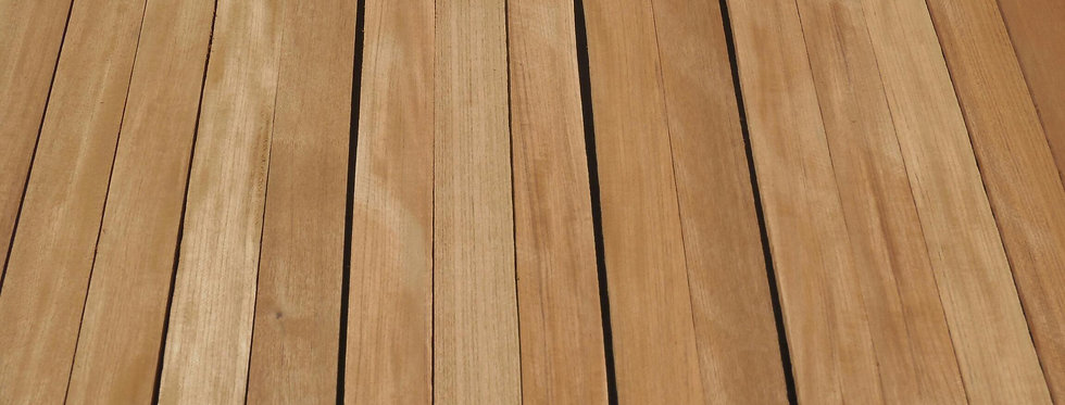 "Genuine Teak Lumber 2""thick (8/4)"