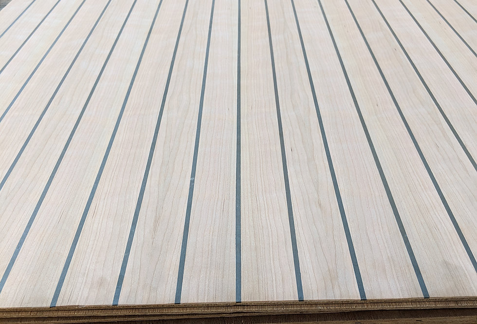 Cherry & Black Cabin-Sole Plywood 4x10