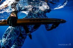 Using the Koah underwater