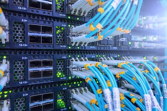 Fiber Optical connector interface. Fibre