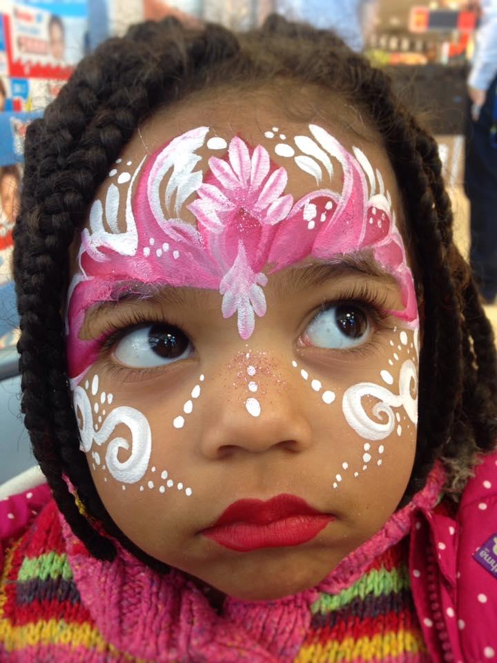 pretty princess face