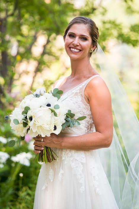 Tara Gillespie Bridal Pic