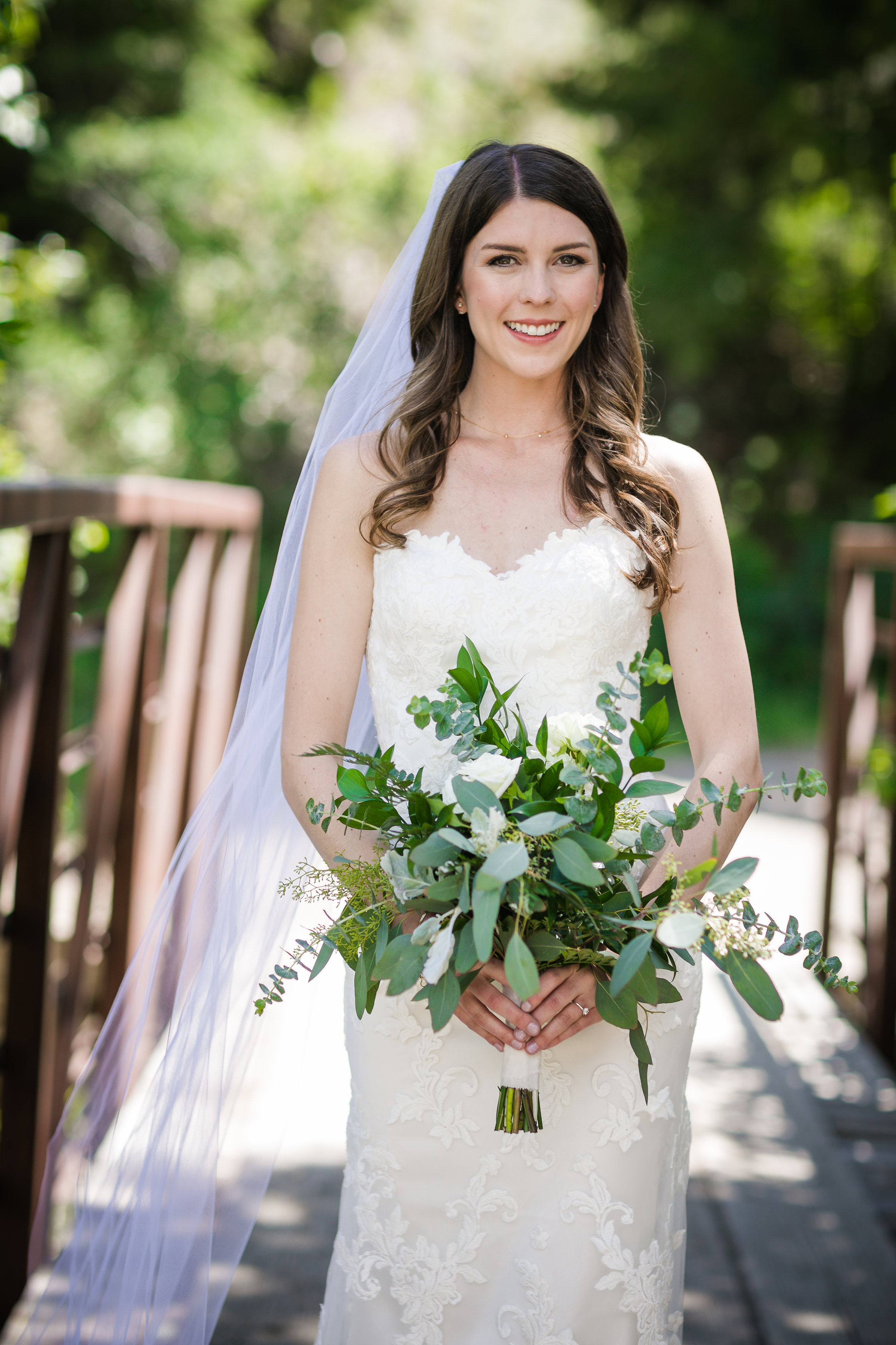 Clare King Bridal Pic