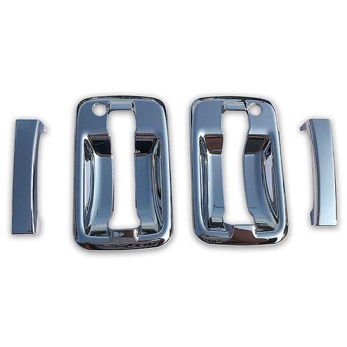 いすゞ ファイブスター ギガ 07エルフ 07フォワード 貼り付け ABS製 メッキ サイド ドア ハンドル カバー (税別)