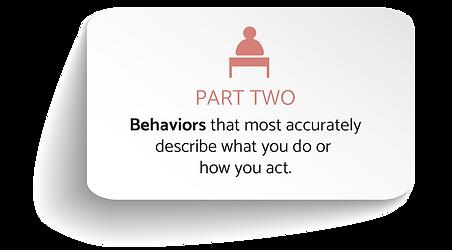 Part Two - Behaviors