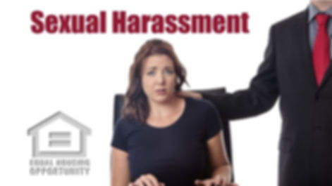 FHA Sexual Harassment online course
