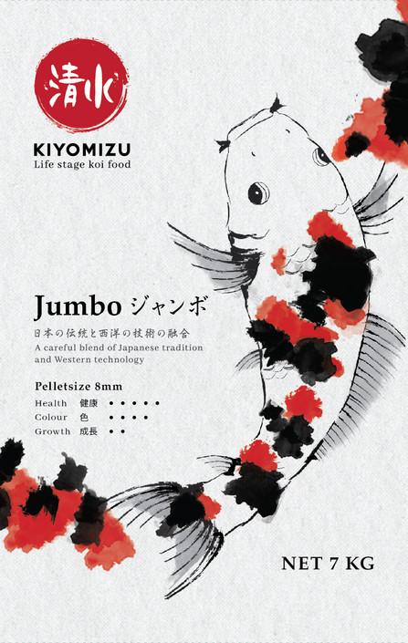 KIYOMIZU JUMBO - 8 mm for Koi from 60 cm