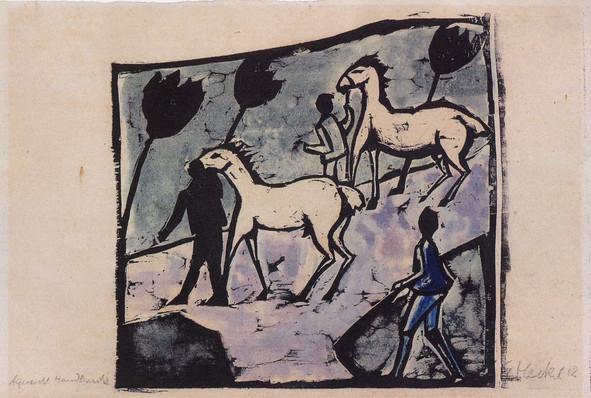 Weisse Pferde (White Horses)