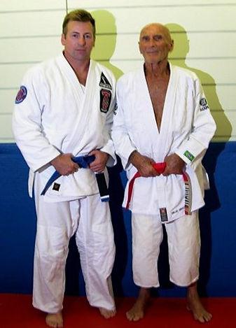 Helio Gracie-Randy McElwee-Jiu Jitsu-Self-Defense-Athens