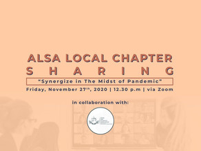 ALSA Local Chapters Sharing