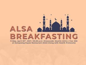 ALSA Breakfasting