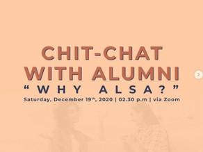 Chit-Chat with Alumni