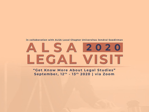 ALSA Legal Visit in Collaboration with ALSA LC Unsoed