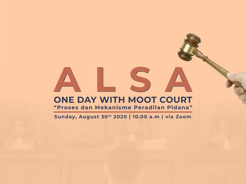 One Day with Moot Court #1