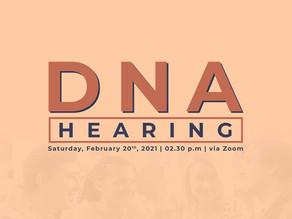 DNA Hearing