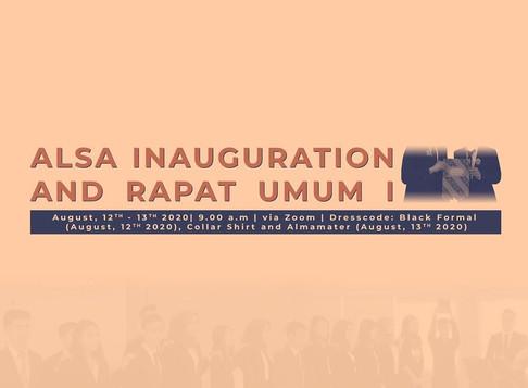 Inauguration and Rapat Umum I