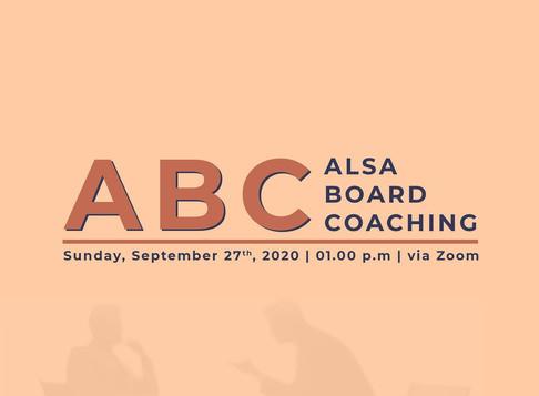 ALSA Board Coaching