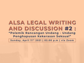 ALSA Legal Writing and Discussion #2