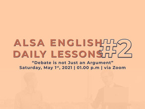 ALSA English Daily Lessons #2