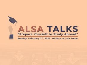 ALSA Talks