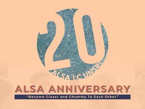 ALSA Anniversary